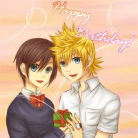 KH: Birthday Card by yoruven