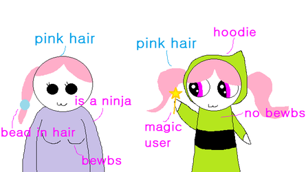 OC comparison : Ayane and Illiya by The-Lady-Pony