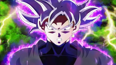 Goku Black: Mastered Ultra Instinct by MohaSetif