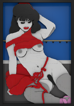Ballerine nue au repos - Nagel Version by bricksnoir