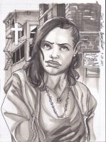Claire Temple for LUKE CAGE [w / VIDEO] by AJthe90skid