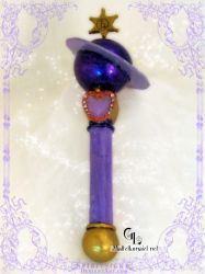 Sailor Saturn Wand - Light by coyoterose