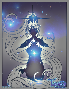 Tethered Star Goddess by TetheredManga