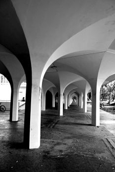Arches Abound by AtomicBrownie