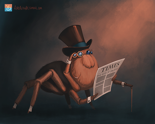 Spiderchap by ancalinar