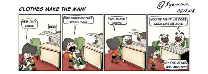 AD01_Clothes make the man! by Xyncomix