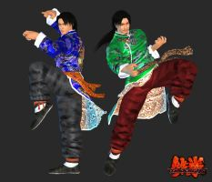 TEKKEN 6 - Lei Wulong (1P) - XPS Download by Pedro-Croft