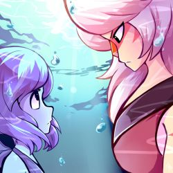 Jasper and Lapis by Nana-Naexii