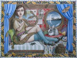 Snake Charmer by LaineB