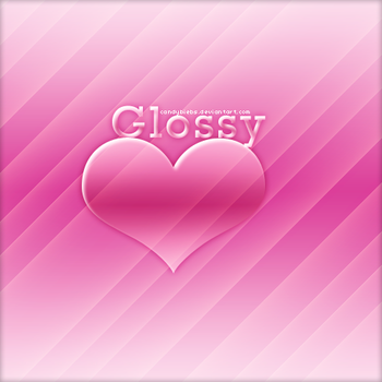 Glossy heart style by CandyBiebs