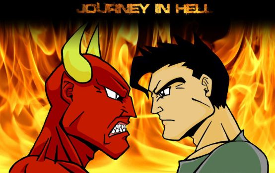 Journey in Hell by Bobu77
