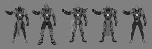 Over-watch male-concept BATCH #1 by Factor13th