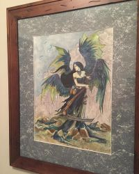My Art Collection - Death by Jessica M. Douglas by themuseslibrary