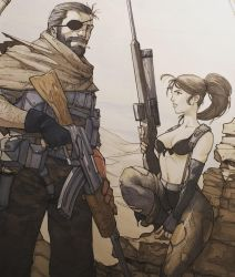 Quiet And Snake by Harpokrates