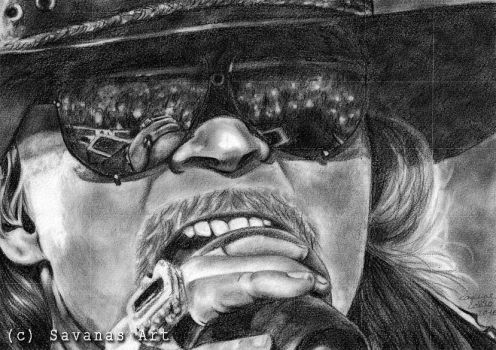 Axl Rose by SavanasArt