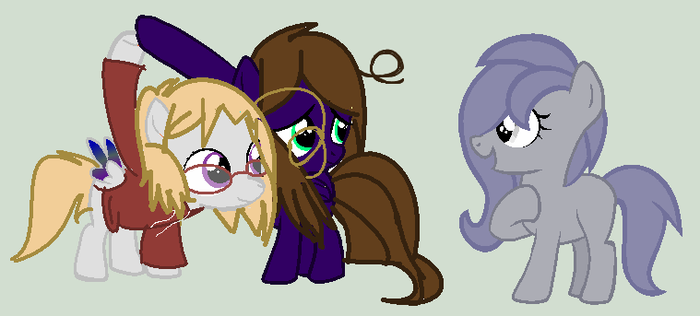 MLP Collab-You Want to be our friend by Casey-the-unicorn