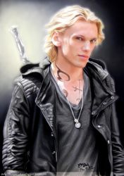 Jamie Bower as Jace of The Mortal Instruments by dbrytpurl09