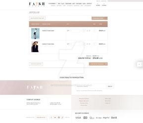 FASH AFFAIR - shopping cart by webdesigner1921