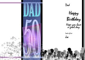 Joe's Dad's Card by theOZmosis