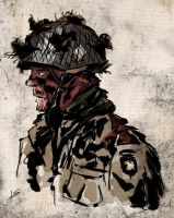 US paratrooper by Fisher22