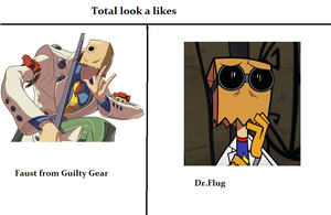 Faust and Flug look a likes by Kitty-cat-Fox