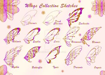 Wings Full Collection Adoptables CLOSED by MkE7
