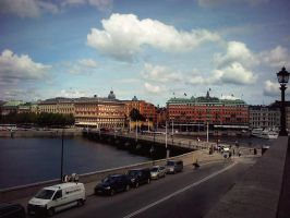 The city of Stockholm by SeiMissTake