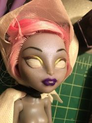 Monster High Face repaint wip  by AED1234PD