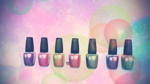 MMD Nail Polish Bottle Pack Download by Hack-Girl