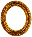 Golden circle Frame Decorative 1 by 94r4d0x