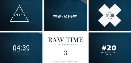 Raw Time Pack 3 [new Update 21 September 2017] by MunaNazzal