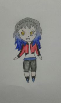 Chibi anime me by Bluelover2001