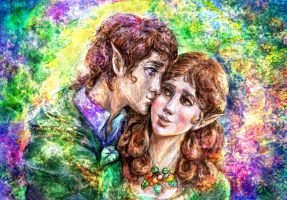 Of hobbits and kisses by jesterry