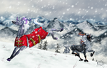 EB - Secret Santa - Snow fun by Aspi-Galou