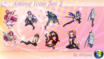 Anime Icon Set - 2 by Ailayna