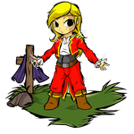 Commission- B-Angelo Cynthia Windwaker by Tigryph