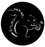 Evil Squirrel comics logo by eternalydreaming