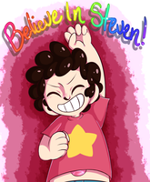 Believe in Steven! by Cherryberrybonbon