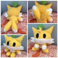 Tails chao plush by shikustar123