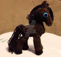 Loom Knitted Mini Horse by ScarlettRoyale
