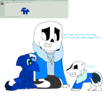 Sans and Children Question #7: Wild Screecher by cjc728