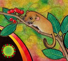 Common Dormouse as Totem by Ravenari