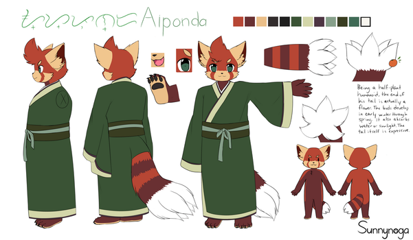 Aiponda Reference Sheet 2017 by Sunnynoga