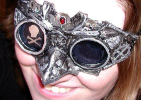 Steampunk Pirate Goggles by Namingway