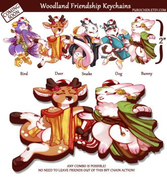 VOTE NOW!! Woodland BFF charms by Prochaine