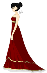 ~*Red Dress*~ by WolfieDoseArt