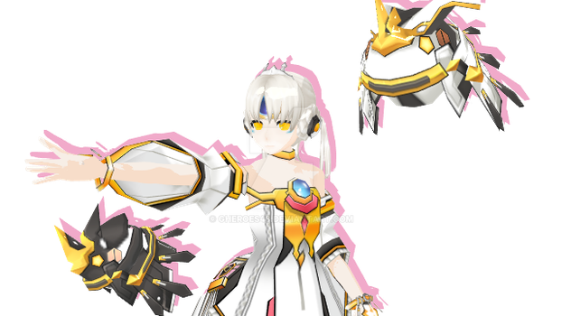 [MMD] Eve-Code Empress skill cut Reader by Gheroes48