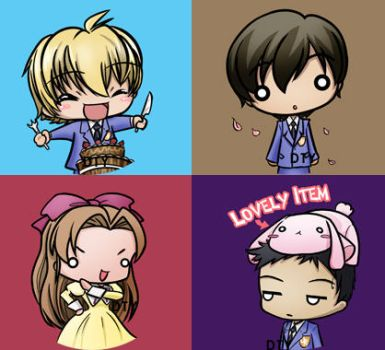 SD buttons- ouran II by zelas