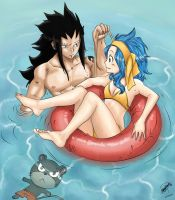 GaLe Summertime. Color by lamoco-13