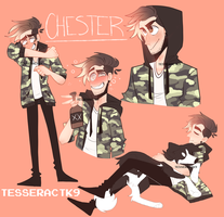 Chester doodle dump by TesseractK9